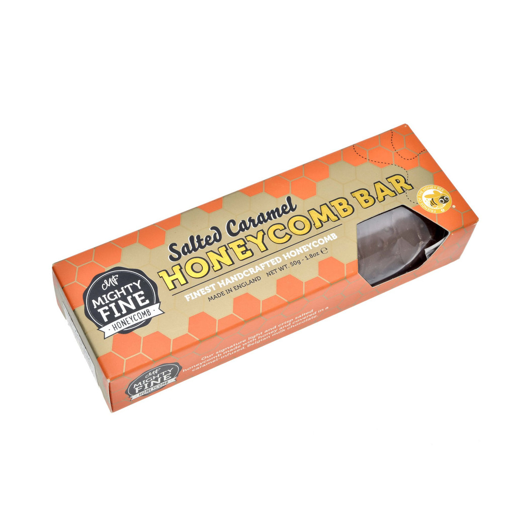 Salted Caramel Honeycomb Bar - rockerdistributors