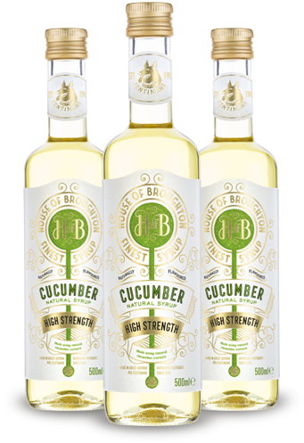 House of Broughton Cucumber Syrup