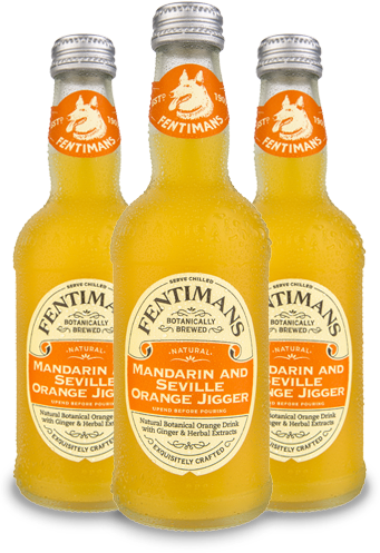 Fentimans Manderin and Seville Orange Jigger